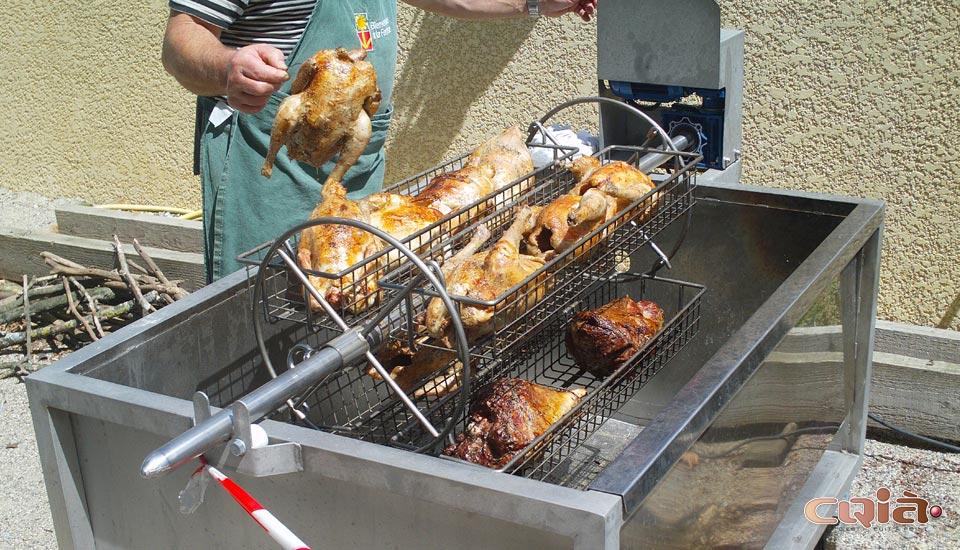 barbecue Professionnel CQIA•